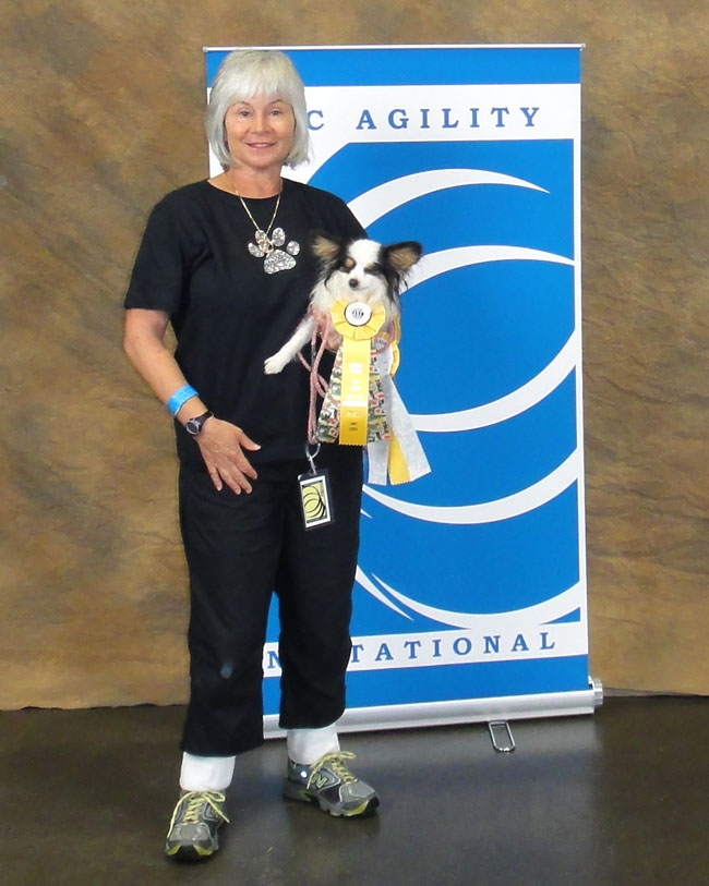 Susy and Tessa at AKC Invitationals 2011
